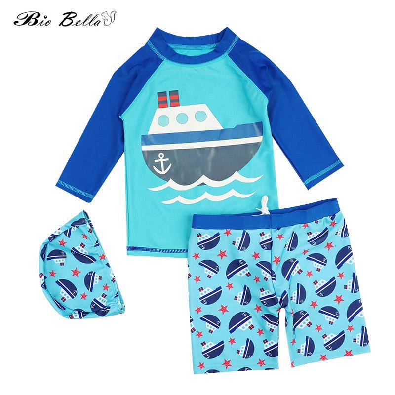 Kids Children Boy Swimwear Fashion Cartoon Kids Boys Swimsuit Swimming Bathing Surfing Swimsuit Children Boys Clothes Swimwear