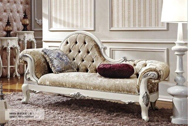 Królewski Barokowy Księżniczka sofa chesterfield sofa
