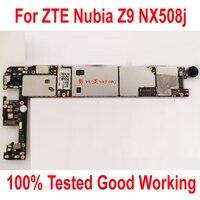 Desbloqueio Original Usado no Teste De Trabalho Mainboard Para ZTE Nubia Z9 NX508j 3 GB 32 GB Taxa de Circuitos Motherboard Flex Cable FPC
