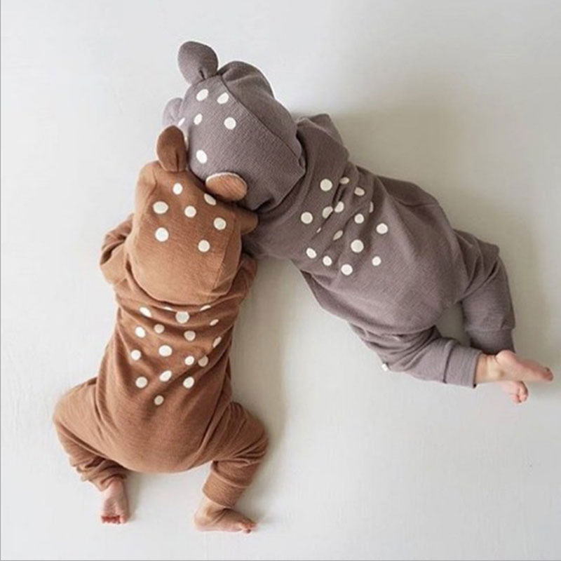 Spring Costume Animal For Baby Little Bear Baby Girl Jumpsuit Long Sleeve Newborn Romper Baby Overalls Infant Clothing Onesie iyeal baby girl clothing spring 2017 bebe jeans overalls lace rompers infantil jumpsuit for toddler infant denim coveralls
