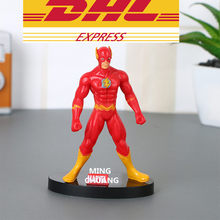 Factory Price Wholesale 300Set/Lot Justice League Superhero The Flash Barry Allen PVC Action Figure Collectible Model Toy W66(China)