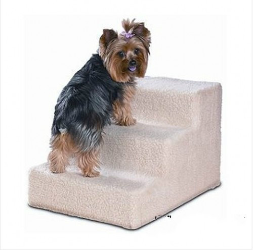 Pp+plush Cover Ladder For Pet Cat Dog  31kg Loading-bearing Jumping Climbing Rack  4 Colors Pet Toy