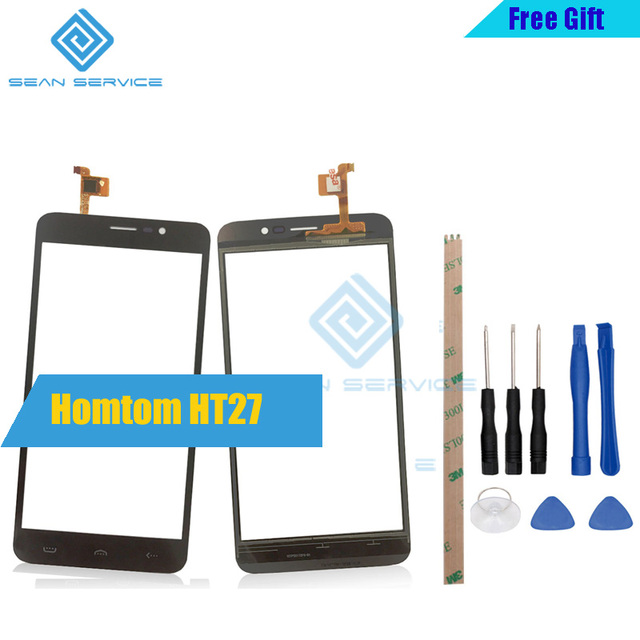 For Original Homtom HT27 Touch Screen Perfect Repair Parts Touch Panel+Tools+Adhesive 5.5'' For Homtom HT27 in stock