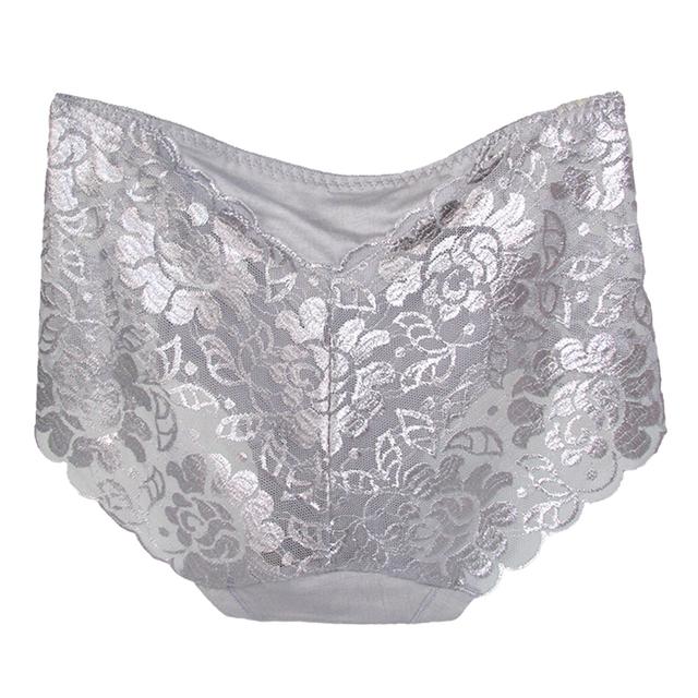 Transparent Seamless Lace Panties