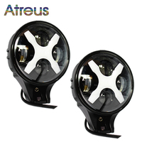 Atreus X Car Styling For Jeep Wrangler 4x4 4WD Offroad ATV Truck 1Pair 6 60W LED