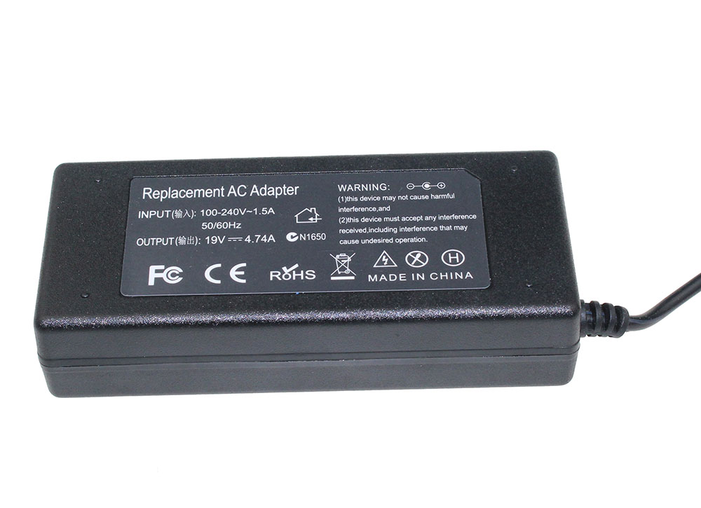 19V 4.74A 4.8x1.7mm Laptop AC Adapter For Hp Compaq 500 510 520 530 540 550 620 625 CQ515 Notebook Power Supply Charger