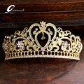 Pelo de la boda accesorios de La Novia corona de la Princesa Coronas Tiaras de diamantes de imitación de Joyería de Calidad de La Corona de La Vendimia