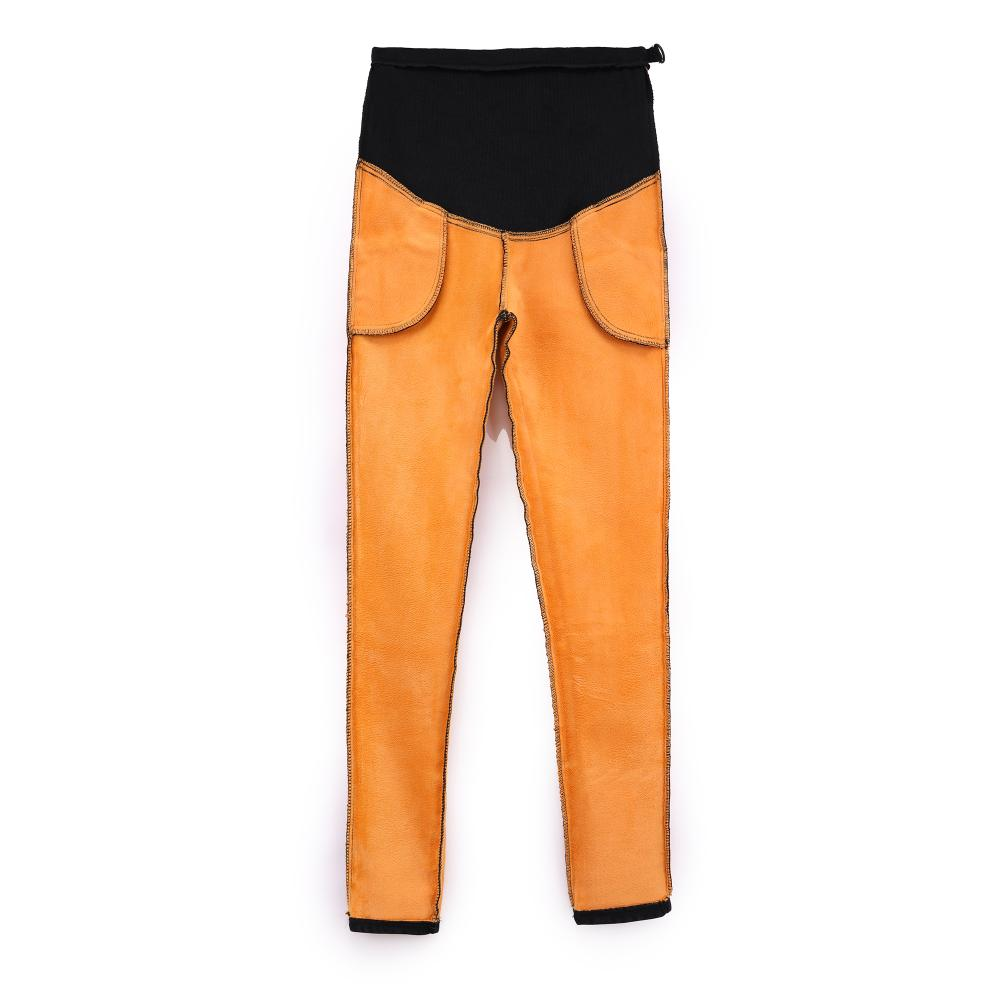 366742ebcc Pregnant women in the fall and winter pants with velvet snow jeans wear  long pants to keep warm abdomen pants little pencil pant-in Pants   Capris  from ...