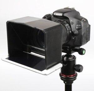 Image 3 - Bestview สมาร์ทโฟน Teleprompter สำหรับ Canon Nikon Sony กล้องถ่ายภาพสตูดิโอ DSLR สำหรับ Youtube สัมภาษณ์ Teleprompter กล้อง