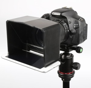 Image 3 - Bestview smartphone teleprompter para canon nikon sony camera photo studio dslr para youtube entrevista teleprompter câmera de vídeo