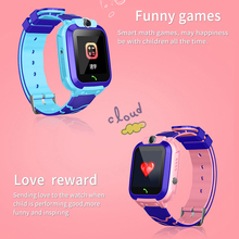 купить S12 Smart Watch LBS Child Baby Watch Children SOS Call phone Anti-lost Bracelet Sport tracker ios/android Wristwatch with camera дешево