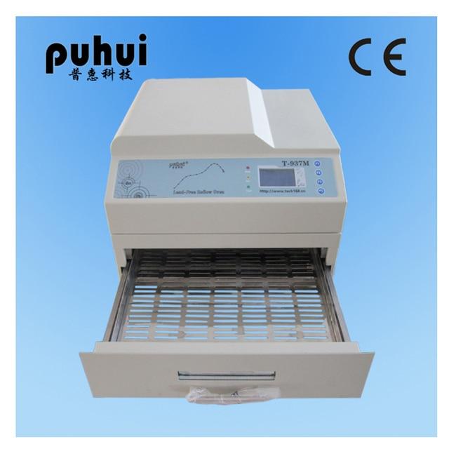 Original PUHUI T-937M T937M Small desktop lead-free Reflow Solder Oven welding machine BGA SMD SMT Rework Sation Wave Oven