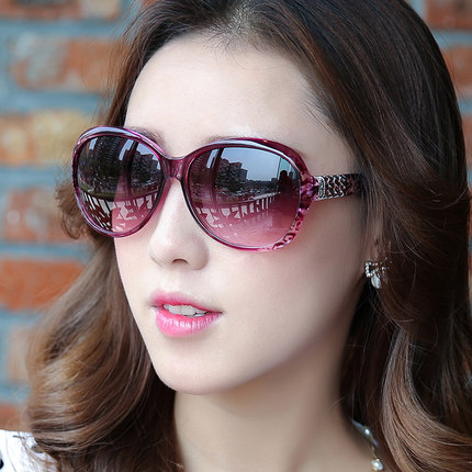 new arrival Women's Elegant Sunglasses Fashion Gradient Sunglass Metal Crystal Decoration Sun Glasses For Sun Eyewear wholesale