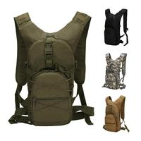 Military Bottle Pouch Tactical Camp Hydration Backpack Oxford Water Bag Camping Camelback Bicycle 15L Capacity Outdoor