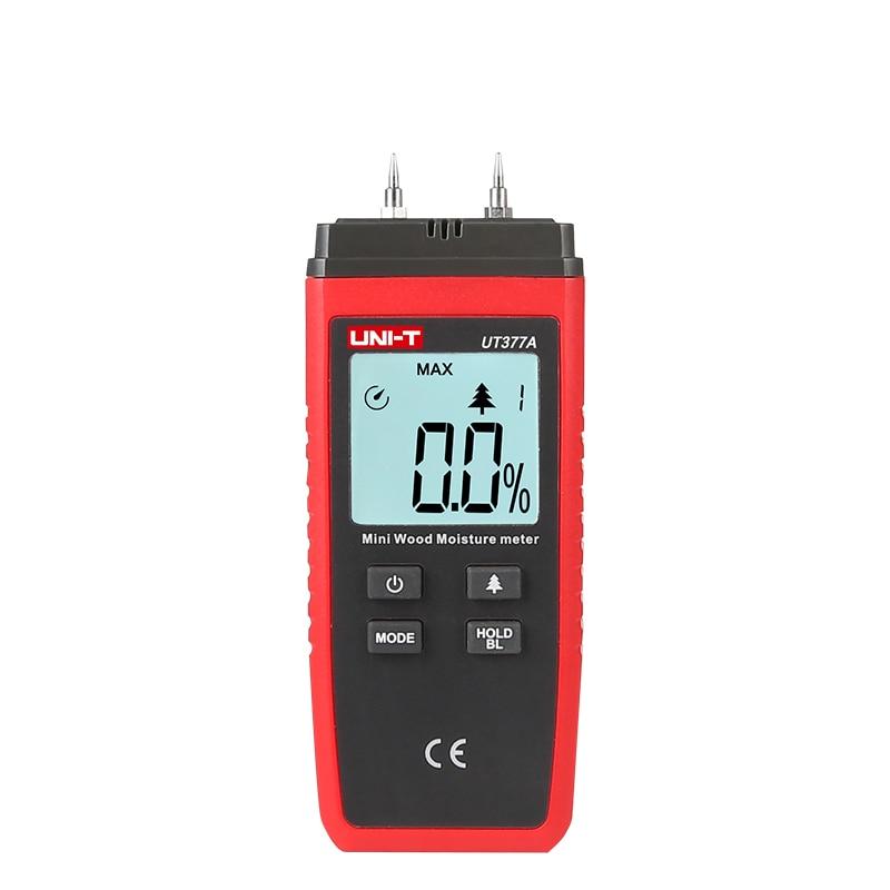 Werkzeuge Kraftvoll Uni T Ut377a Mini Digital Feuchtigkeit Meter 2-40% Holz Feuchtigkeit Tester Holz Damp Detector Auto Range Daten Halten 1000 Mal Test Zu Hohes Ansehen Zu Hause Und Im Ausland GenießEn Analysatoren