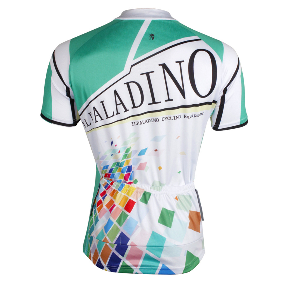 Square Mosaic Pattern Men Crewneck Bicycle Clothing White Short Sleeve  Cycling Jersey Pro Ropa Ciclismo Hombre Size S 6XL-in Cycling Jerseys from  Sports ... 62ec06201