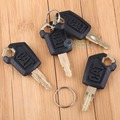 4 Pcs Heavy Equipment Ignition Loader Dozer Key For Caterpillar(CAT) 5P8500