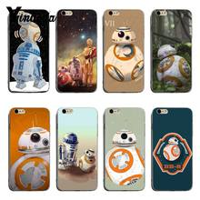 Yinuoda Star Wars Yoda BB-8 Droid Robot On Sale! Luxury Cool phone Case For iPhone 8 8plus 7 7plus 6s 6sPlus XSMax X XS XR(China)