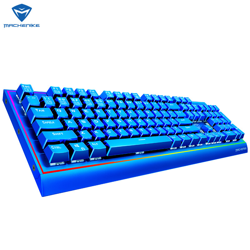 Image 5 - Machenike mechanical keyboard  cherry axis green axis black axis tea axis RGB eSports  gaming keyboard-in Keyboards from Computer & Office