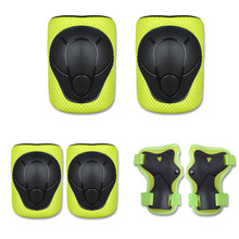 Children's Protectors Knee Elbow and Palm Protector Car and Wheel-pulley Bicycle Balance Protector sets 6pcs
