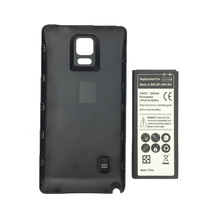 High Capacity 6800 mAh EB-BN910BBK Li-ion Battery + Back Cover for Samsung Galaxy Note 4 N9100 SM-N910H SM-N910C