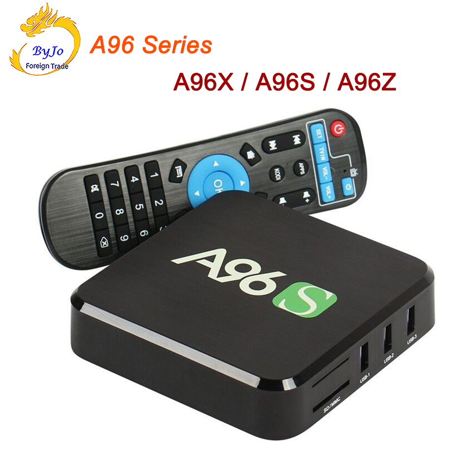 A96 Series Android TV Box A96X A96S A96Z Amlogic S905X Quad Core Android Marshmallow HDMI 2.0 2.4G 5G WIFI 2K 4K BOX HD BOX