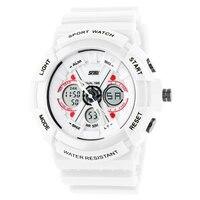 Lover Fashion Sport Electronic Quartz Wristwatch Digital Alarm Military Shock Resistant Watches 50m Water Resistant Couple
