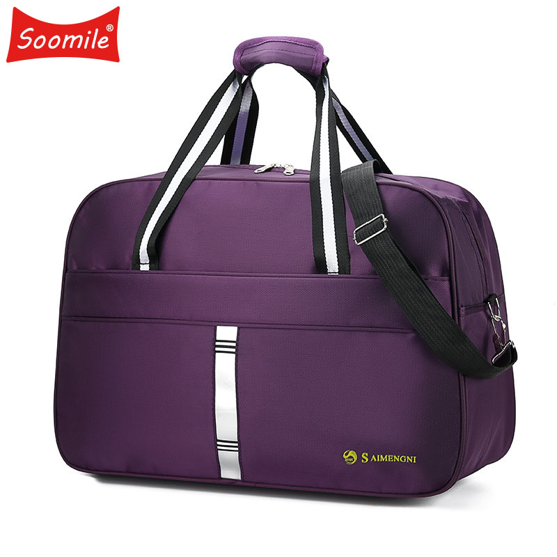 Tote Travel-Duffle-Bag Zipper-Luggage Excursion Latest-Style Women Large-Capacity Female title=