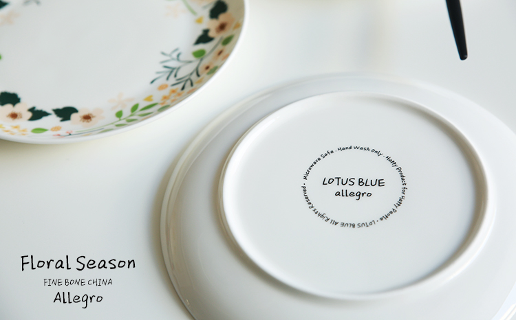 8Inch pastoral home flowers bone china dishes plates decorative plates fruit steak pasta dinner plates kitchen dining tableware-in Dishes \u0026 Plates from Home ... & 8Inch pastoral home flowers bone china dishes plates decorative ...