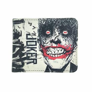 kid toy pu wallet of joker marvel batman short wallets man wallets Suicide Squad Harleen Quinzel woman purse portfel Kids Wallets