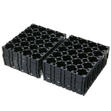 10Pcs 4X5 Cell Battery Spacer 18650 Battery Radiating Shell Pack Plastic Heat Holder Bracket