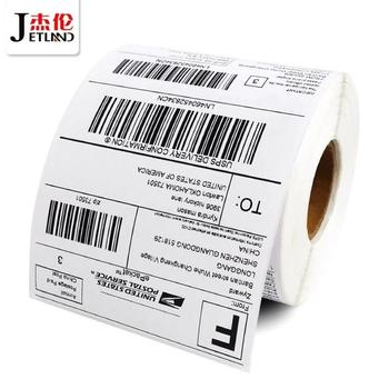 """thermal labels 4x6 """"  USPS Amazon direct thermal  Shipping label 100mm x 150mm, roll of 330 stickers"""