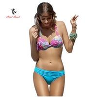 Ariel Sarah Brand 2017 Floral Brazilian Bikini Swimwear Women Sexy Bikinis Set Swimsuit Monokini Biquini Feminino