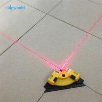 Прямой угол 90 градусов вертикальный и горизонтальный лазер, линейный проекционный квадратный уровень