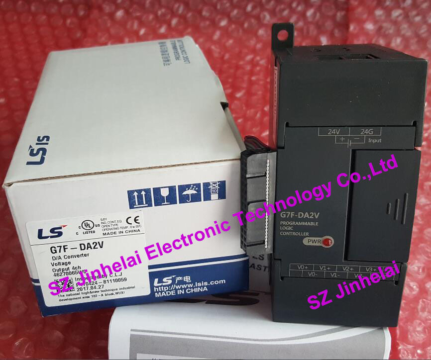G7F-DA2V LS(LG) New and original PLC controller 100% new and original g6i d22a ls lg plc input module