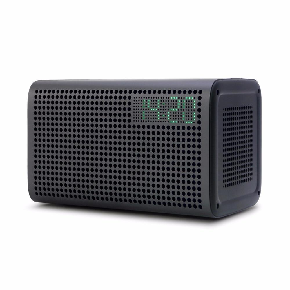 GGMM E3 Falante Sem Fio Bluetooth Melhor Orador 2019 Wi-fi Inteligente Bluetooth Speaker Apoio Alexa Com Alarm Clock & Carregador AUX