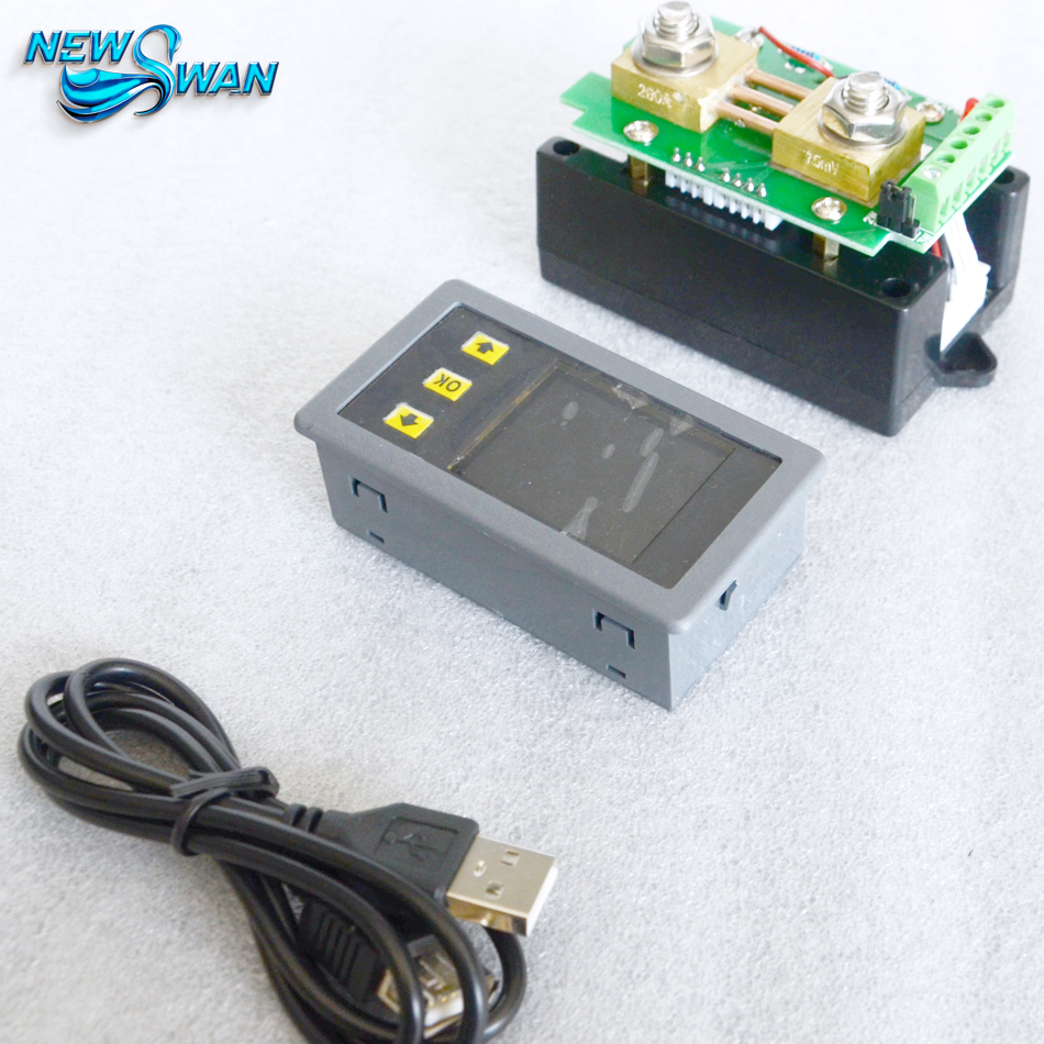 Digital Wireless Voltage Current Power Meter Multifunctional Voltage Current Meter Ammeter Voltmeter LCD Display MHF120100P 100A  цены