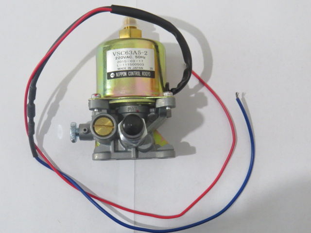 Nippon Burner Parts Electromagnetic Pump VSC63A5-2 For Methanol Burner Diese Oil Burner  One Year Warranty