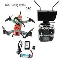 JMT Mini 260 SP Corrida F3 Quacopter DIY Kit Completo ORKUT FPV RC Zangão 2.4G 9CH HD 700TVL Câmera Saco de Transporte 5.8G Transmissão F16051-I