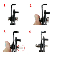 4 IN 1 Multifunctional Snap Ring Pliers Multi Tools Multi Crimp Tool Internal External Ring Remover Retaining Circlip Pliers