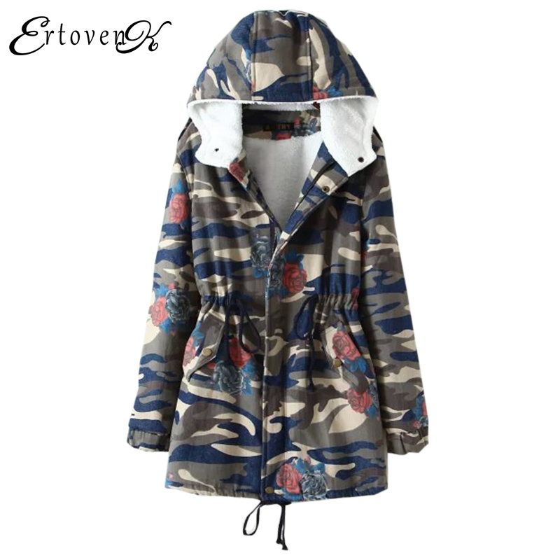Plus size Women Cowboy Jackets Winter 2017New Long-sleeved Denim Coat Fashion Top Hooded Clothing Outerwear abrigos mujer LH016 plus size women cotton coats jacket winter 2017 new long sleeve top slim fashion clothing korean outerwear abrigos mujer lh013
