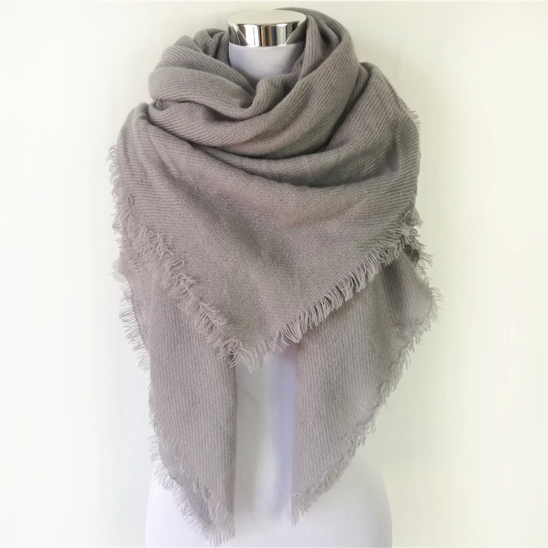 FREE SHIPPING Autumn Winter Accessory Fashion Solid Color
