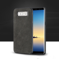 Wangcangli Genuine Leather phone case for samsung note 8 phone case all inclusive Rare leather phone protection case