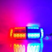 24 LED Amber Ánh Sáng Nhấp Nháy Xe Khẩn Cấp Cảnh Báo Nhấp Nháy Ánh Sáng Xe Truck LED Top Roof Ánh Sáng Bar Mini Cảnh Báo Đèn