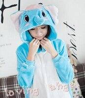 Adult Pajamas Sleepwear Homewear Cosplay Elephant Animal Costume Onesies Jumpsuits Women S Dress