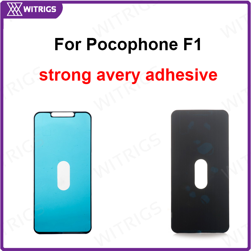 Witrigs LCD Frame <font><b>Sticker</b></font> for Xiaomi <font><b>Pocophone</b></font> <font><b>F1</b></font> Bezel Waterproof <font><b>Sticker</b></font> Adhesive Stripe Poco <font><b>F1</b></font> image