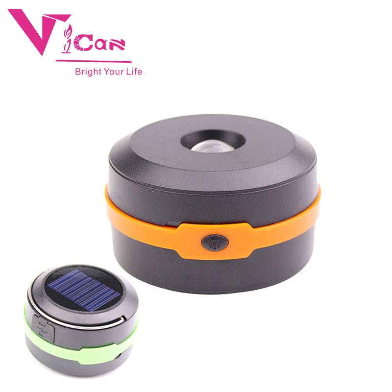 Rechargeable Camping Light Collapsible Solar Camping Lantern Portable Tent Lights Lanterns For Outdoor Camping Hiking