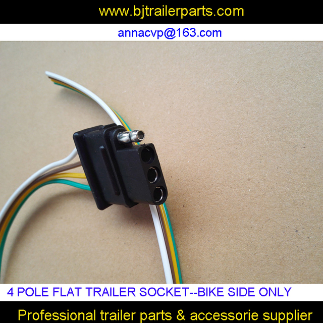 4 pole pin trailer socket, Flat trailer plug wiring harness kit bike  Pole Trailer Wiring Harness on 4 pole trailer lights, 4 pole trailer cable, 4 pole ignition switch, 4 pole alternator wiring, hidden trailer harness, 4 pole trailer connector,