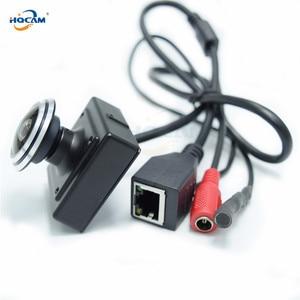 Image 3 - HQCAM 5/4/3/2/1.3/1MP Audio video camera MINI IP camera H.264 mic camera P2P network 1.78mm Fisheye Wide Angle Fisheye Lens