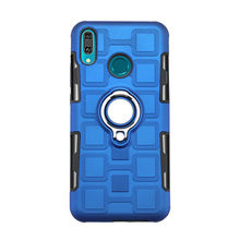 Luxury Bracket Ring Shockproof Case For Huawei P30 P20 Mate 10 Lite Case For Huawei y9 y7 Prime y6 Pro 2019 P smart y5 2018 Case(China)